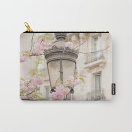 Spring Blooms in Paris Carry-All Pouch