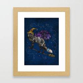 Midnight Vixen Framed Art Print