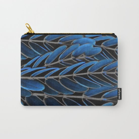 Floral abstract(42) Carry-All Pouch