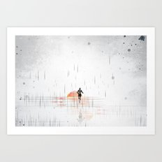 Just Run Art Print