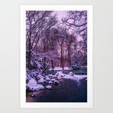 winter's tale Art Print