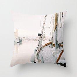La Ciotat - Boat Throw Pillow