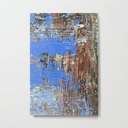 Blue Pond Metal Print