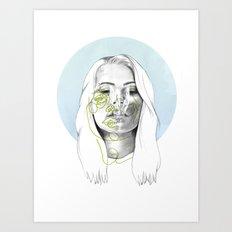 Izzy Art Print