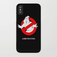 ghostbusters iPhone & iPod Cases featuring Ghostbusters by IIIIHiveIIII