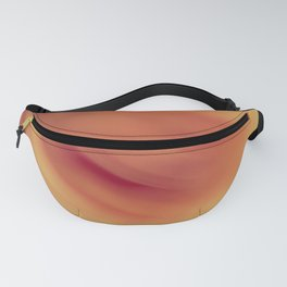 Abstract blurred rose Fanny Pack