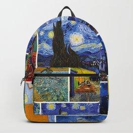 Vincent Van Gogh Montage Backpack