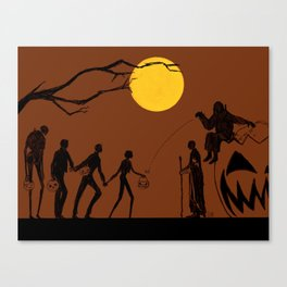 Rogue Halloween Canvas Print