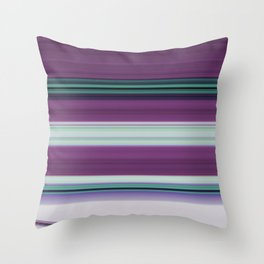 Stripes 38 Throw Pillow