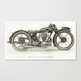 Superbike! Canvas Print