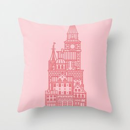 Copenhagen (Cities series) Throw Pillow
