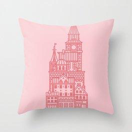 Copenhagen (Cities series) Throw Pillow