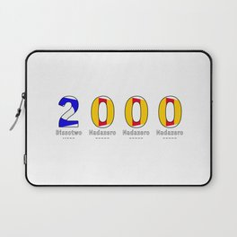 2000 - NAVY - My Year of Birth Laptop Sleeve