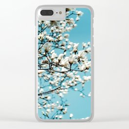 flower photography by Jerry Wang Clear iPhone Case