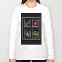 planets Long Sleeve T-shirts featuring Planets by Art Stuff
