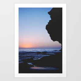 Wall Beach Art Print