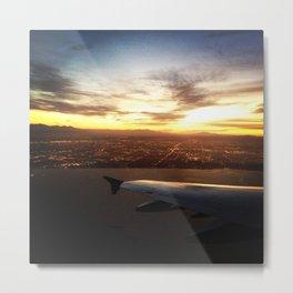 Goodbye Los Angeles Metal Print