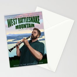 West Rattlesnake Stationery Cards