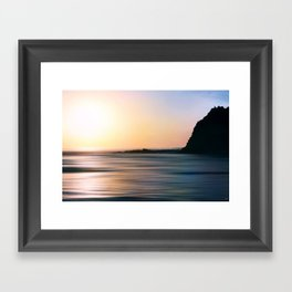 The Edge Framed Art Print