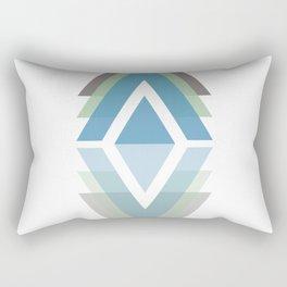 Triangulate - A geometric pattern design Rectangular Pillow