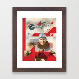 Pilots | 2 / 3 Framed Art Print