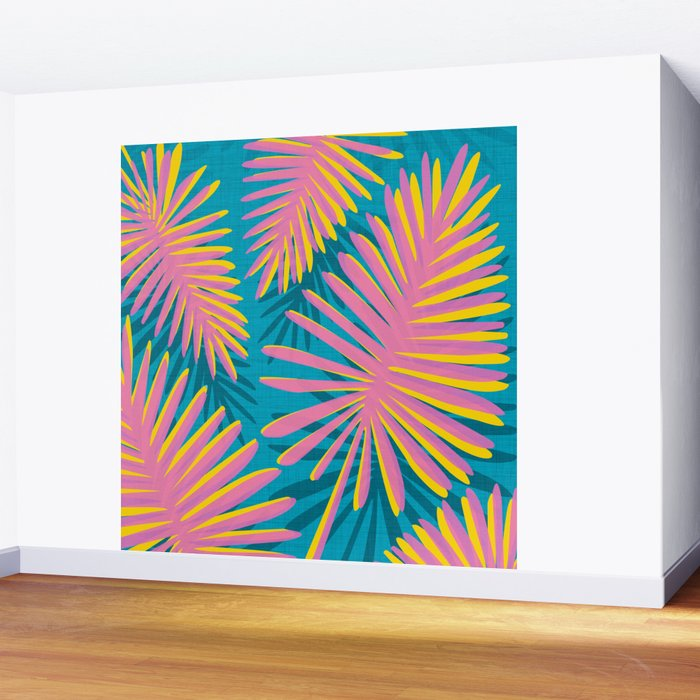 Bright Tropicals Wall Mural