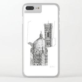 Cattedrale di Santa Maria del Fiore - Firenze Clear iPhone Case