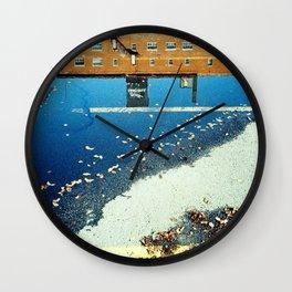 Cross the Line Wall Clock