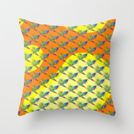 Knights on rockets ... Throw Pillow