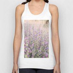 Purple flowers Unisex Tank Top
