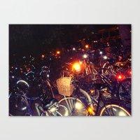 bikes Canvas Prints featuring Bikes by SalOfficial