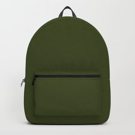 Solid Chive/Herb/Green Pantone Color  Backpack