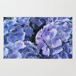 Flower Photography   Blue flowers   Spring   Sapphire   Tropical Rug