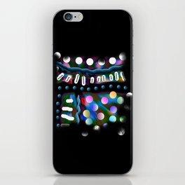 Multitude colorée iPhone Skin