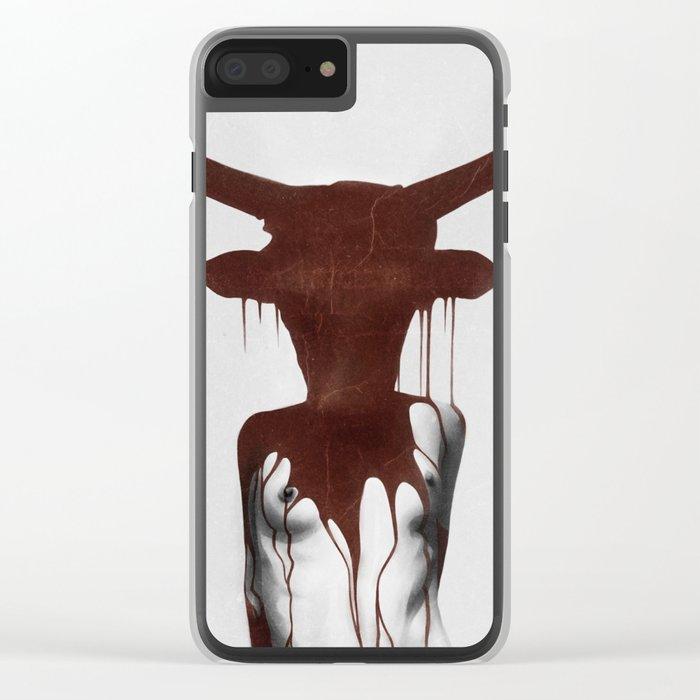 Taurus Clear iPhone Case