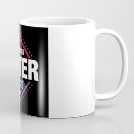 Artistic Voter Of America Illustration Coffee Mug