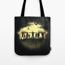 Zombie Shooter Tote Bag