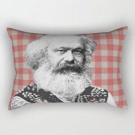 Punk Marx Rectangular Pillow