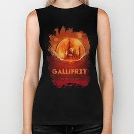 Travel to Gallifrey! Biker Tank