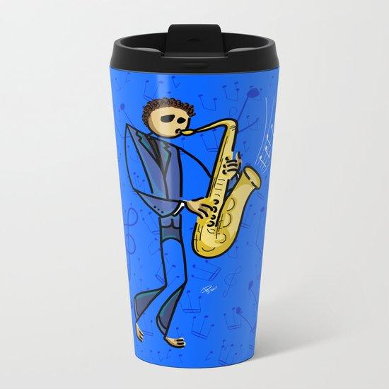 Saxman Metal Travel Mug