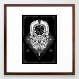 araldite. (ii) Framed Art Print
