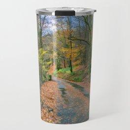 Autumn Forest Snowdonia Travel Mug