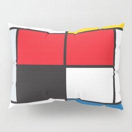Tennis Court Mondrian Pillow Sham