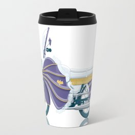 Batgirl's bike Travel Mug