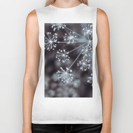 The Stars for You. Botanical Macro Abstract Biker Tank