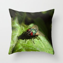 But A Fly Throw Pillow