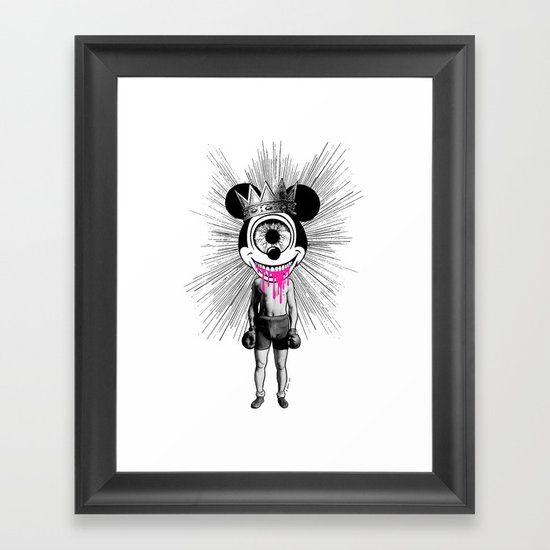 Fu…cked Up Celebrity Framed Art Print