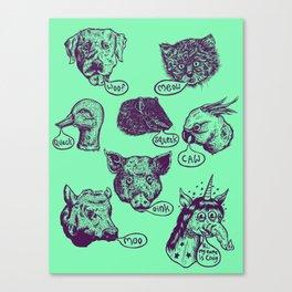 Pet Sounds Canvas Print