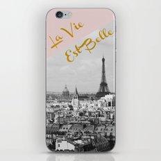 La Vie Est Belle iPhone & iPod Skin
