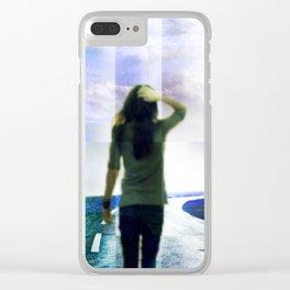 A Te Clear iPhone Case